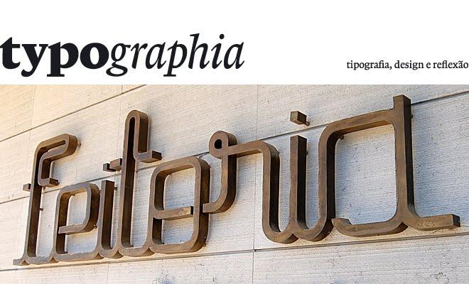 typographia . sandro lopes designer
