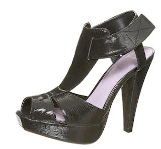 Comfy Black Heel Shoes