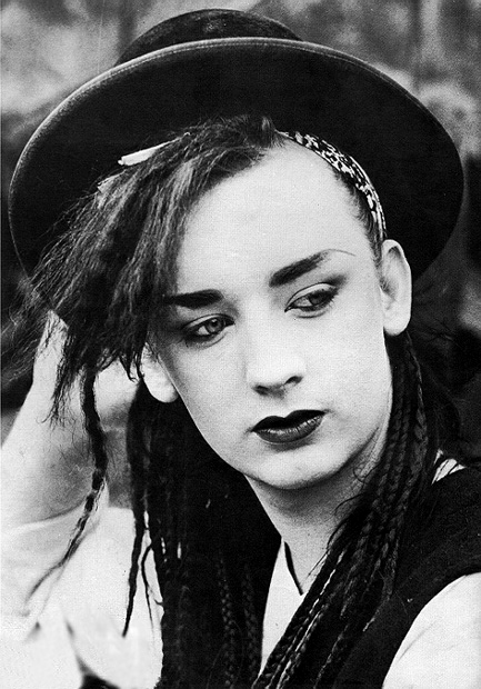 If Boy George doesn't fit that description then I'll eat my trilby!
