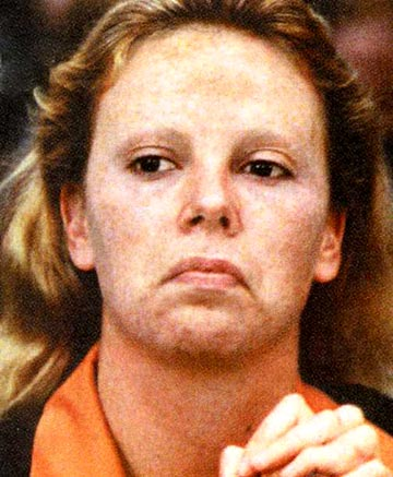 And Charlize Theron as famed female serial killer, Aileen Wuornos.