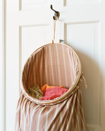 Yankee Belle Home Embroidery Hoop Hamper