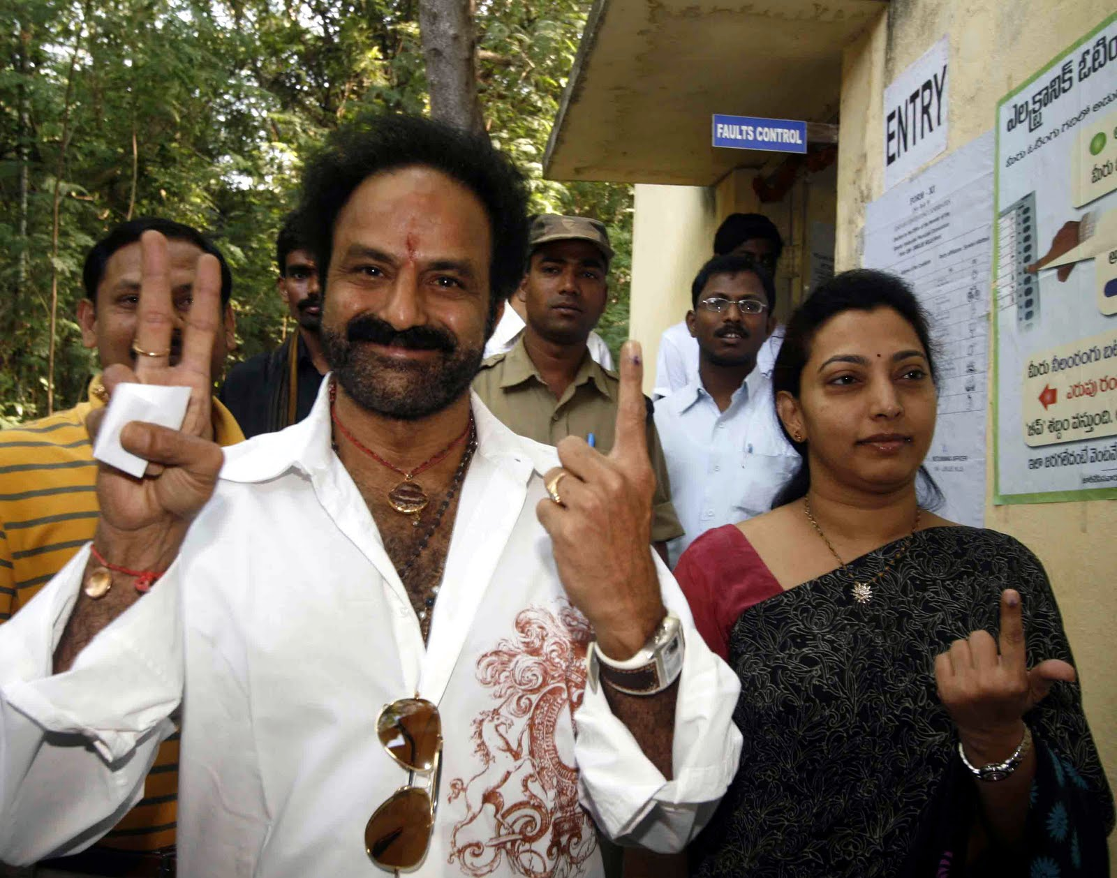 Prashanth Blogs Big Stars Make Their Vote Count