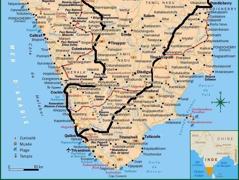Carte De Linde Mysore.Mysore Inde Carte Stopeads