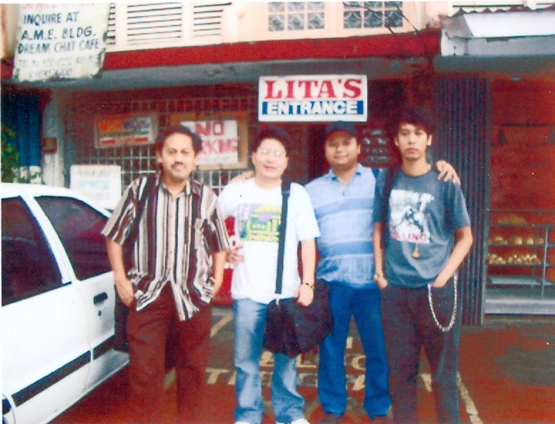 Bicol Writers at Lita's Lodge