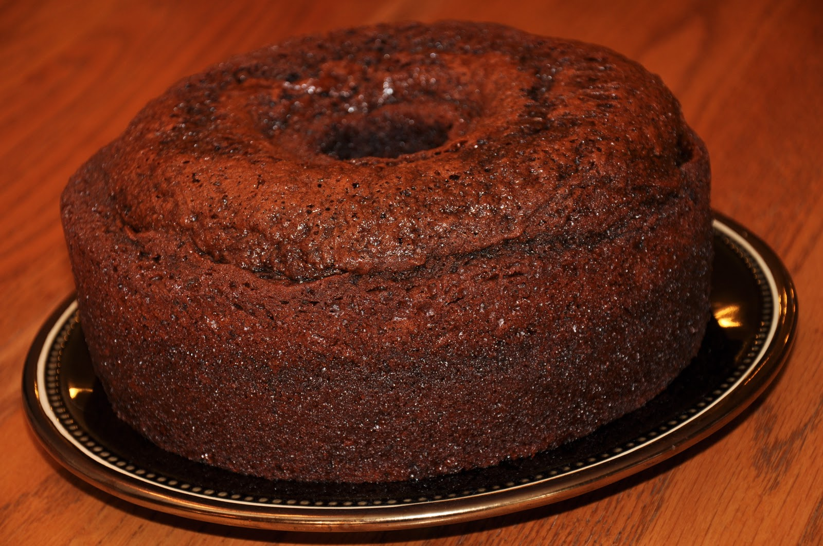 The Changeable Table: Chocolate Zucchini Cake w/Sour Cream ...