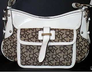 DKNY Brown Business Tote Purse Hand Bag. Item Code: DK01005B