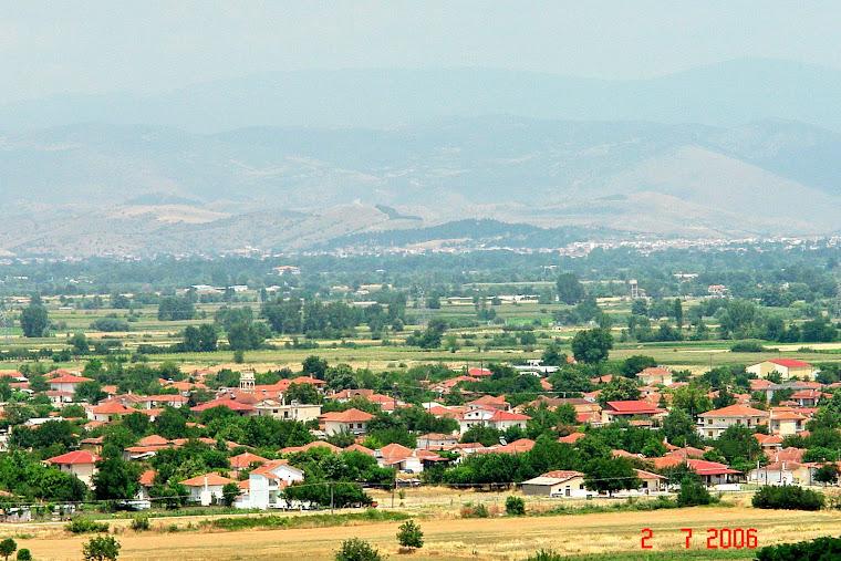 το Χωριο από ψηλά
