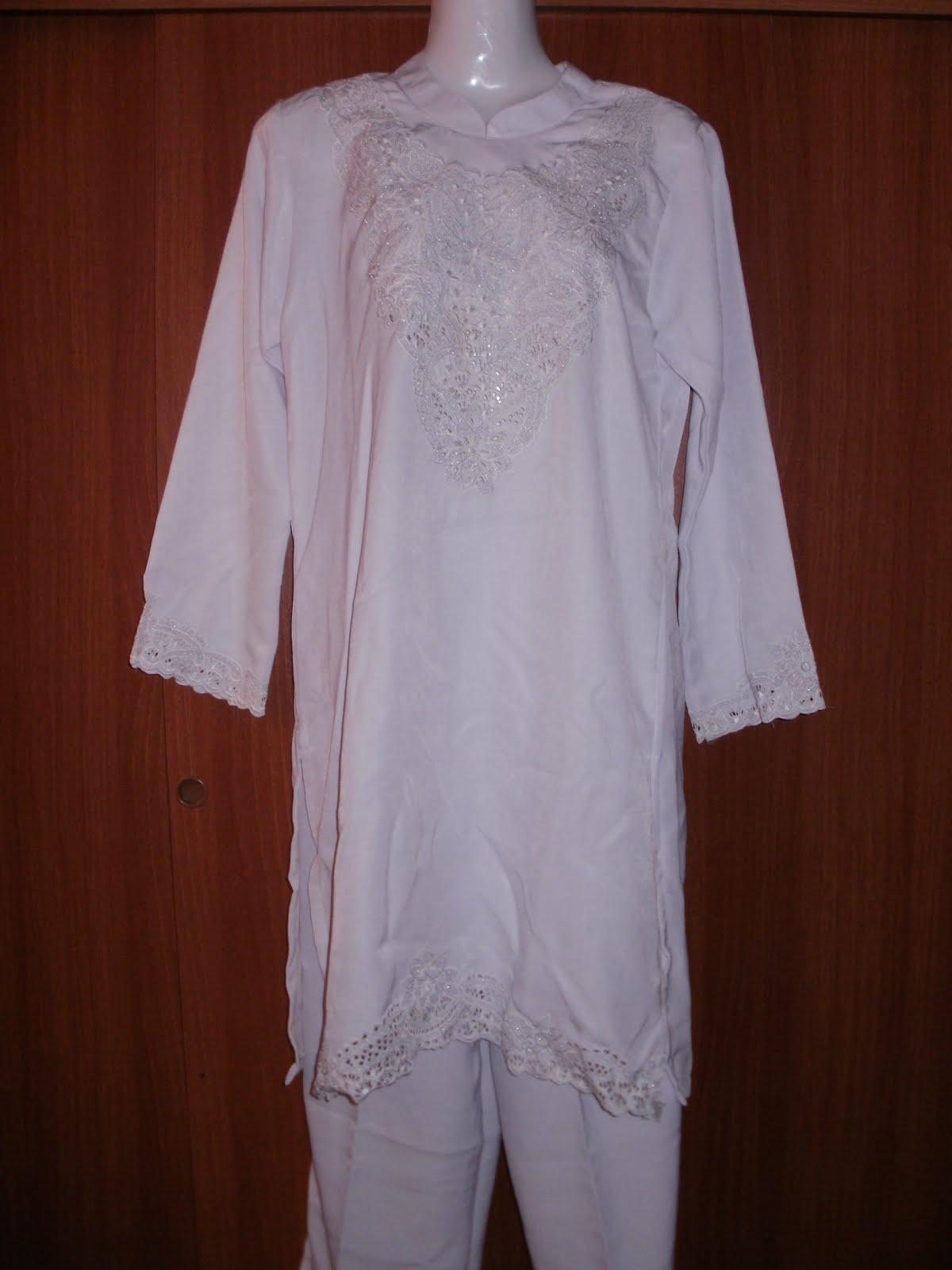 D 39 Jannati Collection Jubah Putih Untuk Umrah Haji