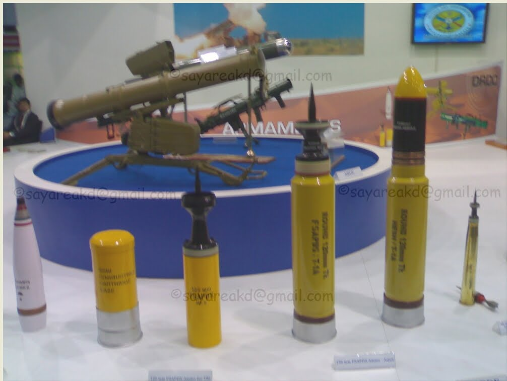 Tank Ammunitions of Indian Army