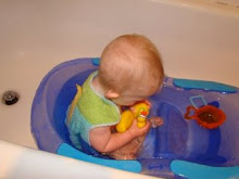 Aiden with his Bath Luve