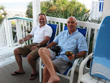 Dad and Jeff chillin at the beach