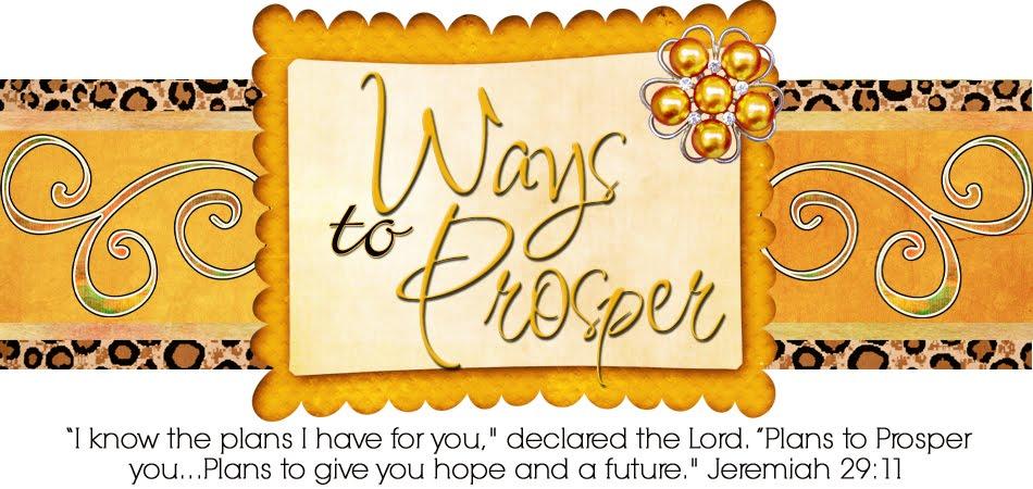 ways to prosper