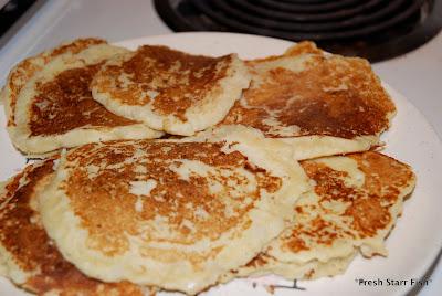 Fresh Starr Fish: Ooh Mashed Potato Pancakes