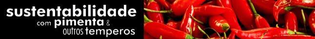 Sustentabilidade com Pimenta