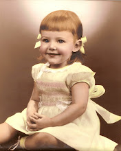 Cassandra as a Toddler in her Favorite Smocked Dress