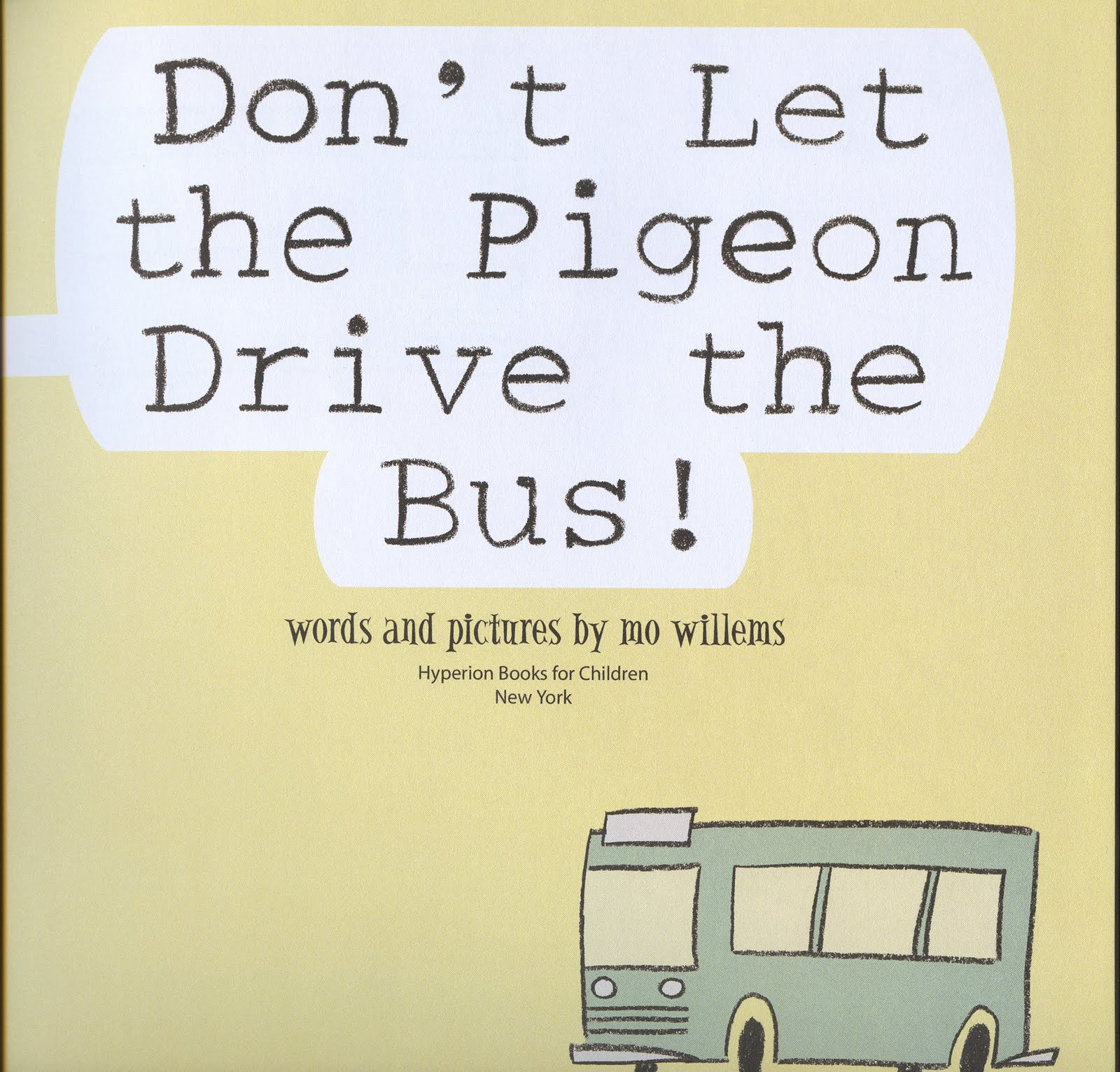 don t let the pigeon drive the bus book pdf