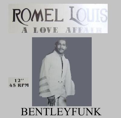 Romel Louis - 1982 -  A Love Affair / 1982  12inch