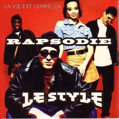 RAPSODIE - 1995 - LP la vie est comme ca