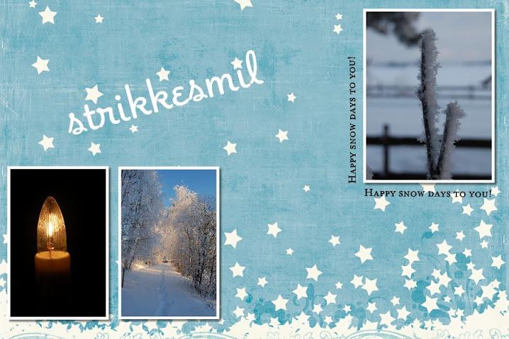 Strikkesmil :)