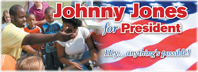 Johnny Jones for President