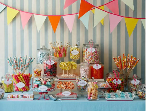 Once A Bride Weddings: Candy Buffet: Sweet!