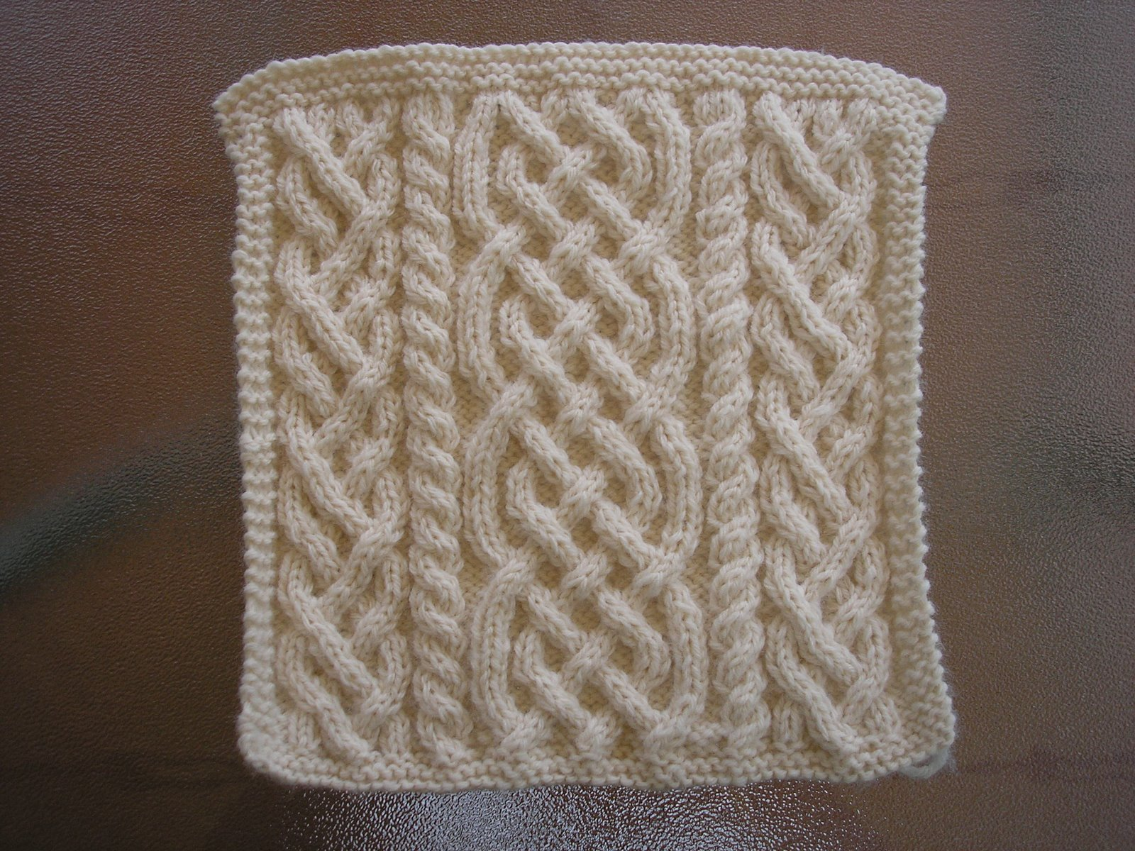 NOT JUST ABOUT KNITTING: Celtic Cables