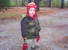 All Dressed for Hunting Pinecones