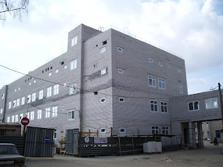 Строительство нового акушерского корпуса в Лысково