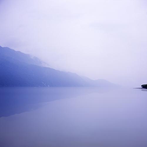 Lac-du-Bourget in Aix-les-Bains (Rhône-Alpes)