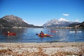 Lago di Garlate in inverno