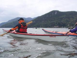 Nerrajaq sul lago di Lugano