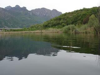 sponda nord-orientale del lago di Oggiono