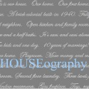 HOUSEography