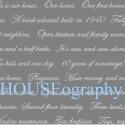 HOUSEography