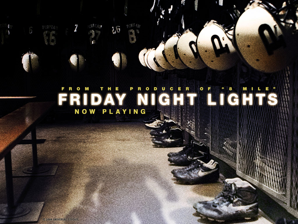 essays friday night lights Friday night lights made me a better man here's how.