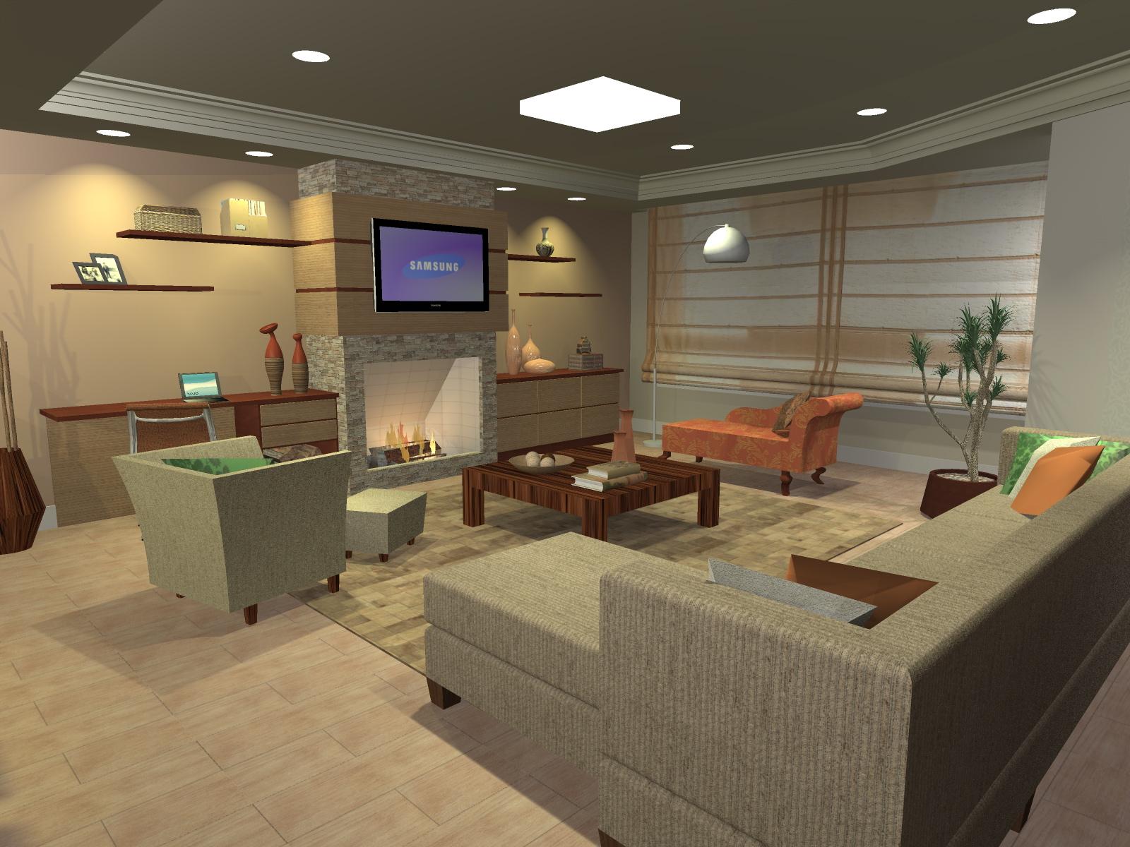 #995E32 Design Estúdio de Arquitetura Sala de Estar e Jantar : Salas De  1600x1200 píxeis em Arquitetura E Decoração Sala De Estar