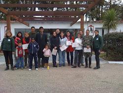 VI CURSO DE INSTRUCTORES DE REHABILITACION ECUESTRE (2009)