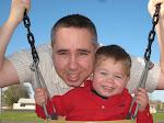 Daddy and Wyatt