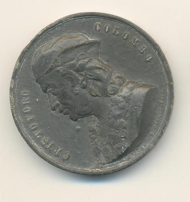 Medalçaho cristovãp Colombo