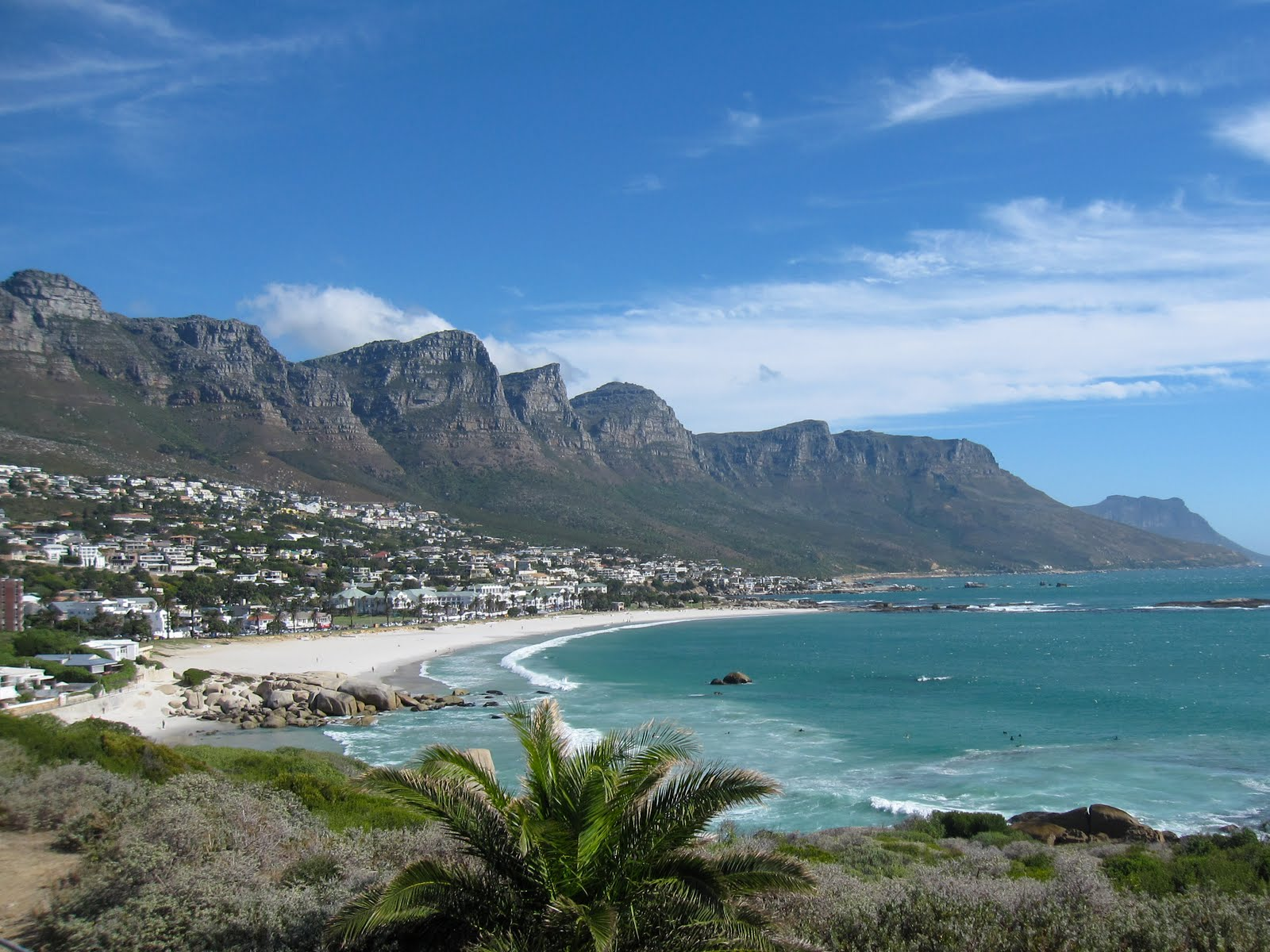 The 12 Apostles Mountains of Cape Town