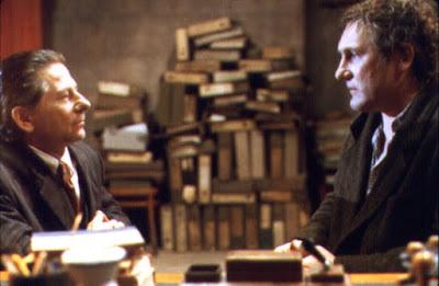 یک تشریفات ساده، دپاردیو و پولانسکی در نمایی از فیلم