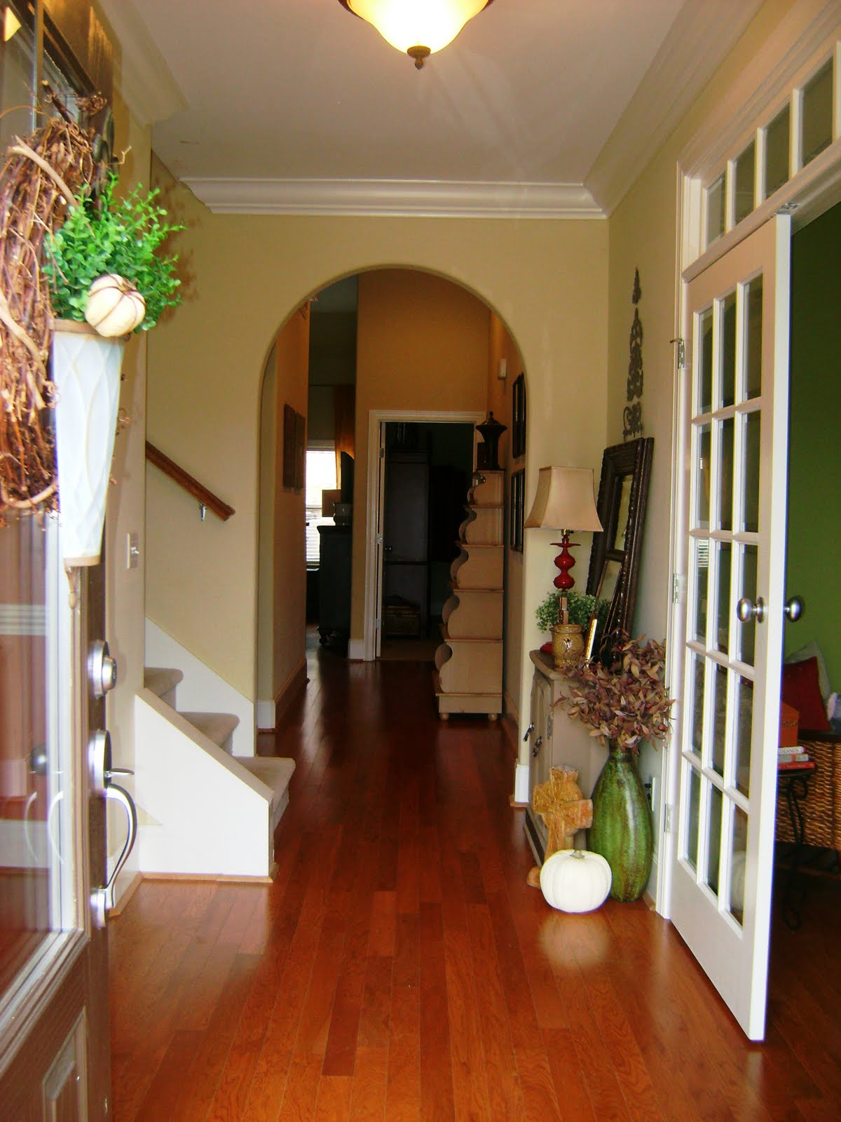 Kountry Chic Design: Show Us Your Life--Entry Ways & Foyers