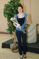 Marie-Andrée, honorée aux Méritas de la région ouest 2008