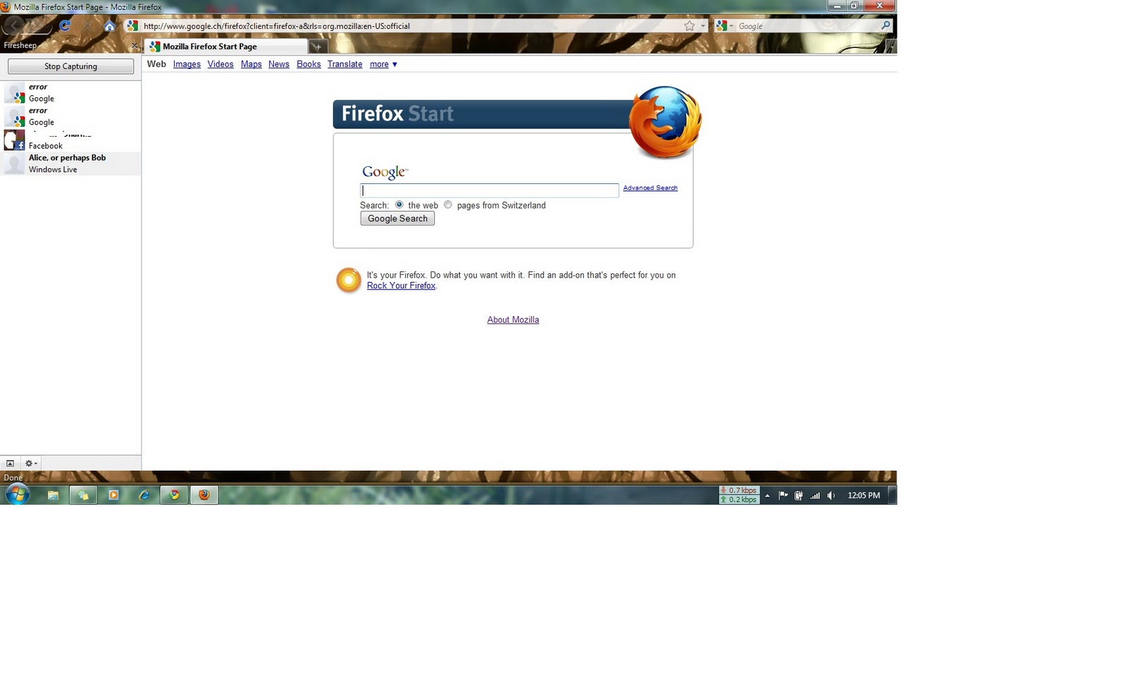 how to use firesheep on firefox