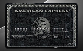american express black