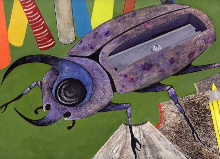 Escarabajo- Sacapuntas