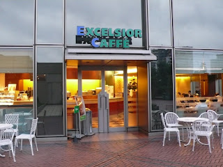 Excelsior cafe, Yebisu garden place, Ebisu, Tokyo, Japan.