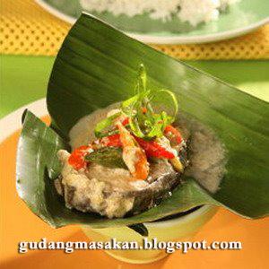 Resep Masakan Botok Ikan Tenggiri