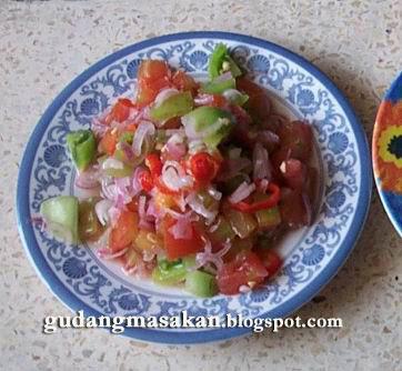 Resep Masakan Sambal Dabu-dabu
