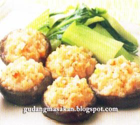 Resep Masakan Jamur Isi Udang
